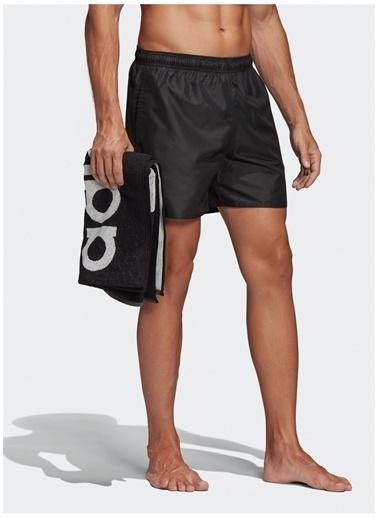 adidas adidas FJ3379 CLX SOLID S Erkek Şort Mayo Siyah
